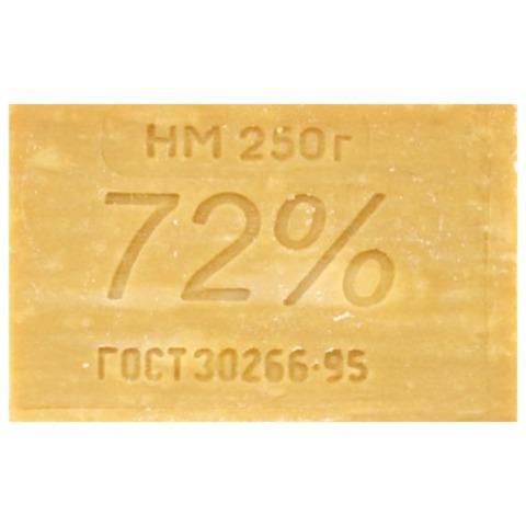 Мыло хозяйственное 72%, 250 г, ЭФКО, без упаковки