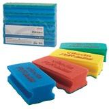 Губки VILEDA «ПрофиПурАктив», комплект 10 шт., для твердых поверхностей, голубые, 6×14 см