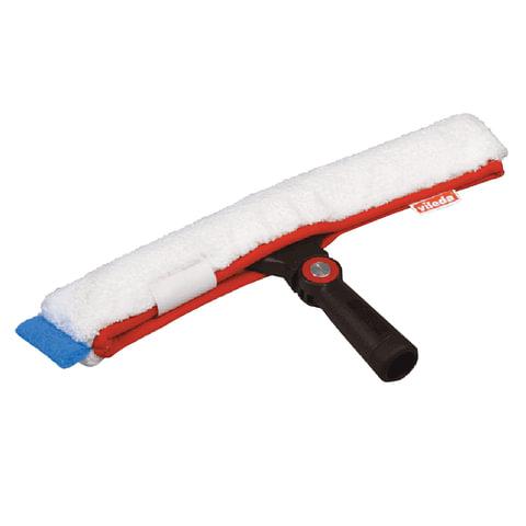 """Щетка для мытья окон VILEDA """"Эволюшн"""" + шубка из микрофибры, ширина 35 см (черенок-ручка 602105)"""