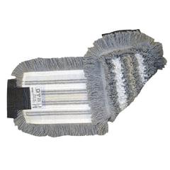 Насадка МОП VILEDA «УльтраСпидТрио+», микроволокно, полиэстер, размер 40×13 см (держатель 602113)