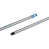 Черенок-ручка VILEDA «Контракт», алюминий, 138 см, резьбовое соединение (насадка 602128, щетка 602136)