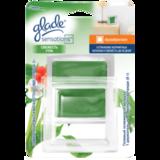 Освежитель воздуха GLADE «Sensations» аромакристалл, 8 г, «Свежесть утра», основной комплект