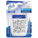 Освежитель воздуха 8 г, GLADE Sensations Для ванной комнаты, «Родниковая прохлада», основной комплект