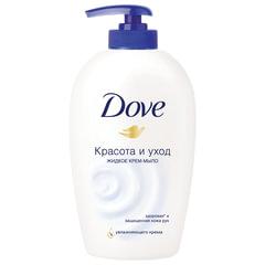 Мыло-крем жидкое 250 мл, DOVE «Красота и уход», дозатор