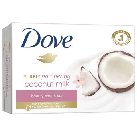 Мыло-крем туалетное 135 г, DOVE «Кокосовое молочко и лепестки жасмина»