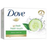 Мыло-крем туалетное DOVE, 135 г, «Прикосновение свежести»