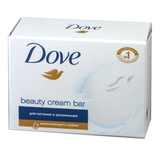 Мыло-крем туалетное DOVE, 75 г, «Красота и уход»
