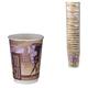 Одноразовые стаканы ХУХТАМАКИ, комплект 25 шт., бумажные, двухслойные, 300 мл, цветная печать, для холодного/<wbr/>горячего, DW12