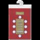 Скатерть бумажная ламинированная ASTER «Creative», 120×200, бордовая, эффект шелка, Бельгия