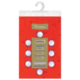 Скатерть бумажная ламинированная ASTER «Creative», 120×200, красная, эффект шелка, Бельгия