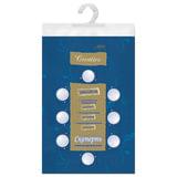 Скатерть бумажная ламинированная ASTER «Creative», 120×200, синяя, эффект шелка, Бельгия
