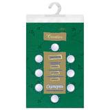 Скатерть бумажная ламинированная ASTER «Creative», 120×200, зеленая, эффект шелка, Бельгия