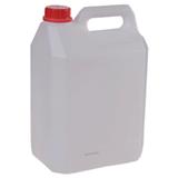 Канистра 5 л (5 дм3), полиэтилен (ПЭНД), с крышкой, для пищевых и химических продуктов, классическая (28×19×13 см)