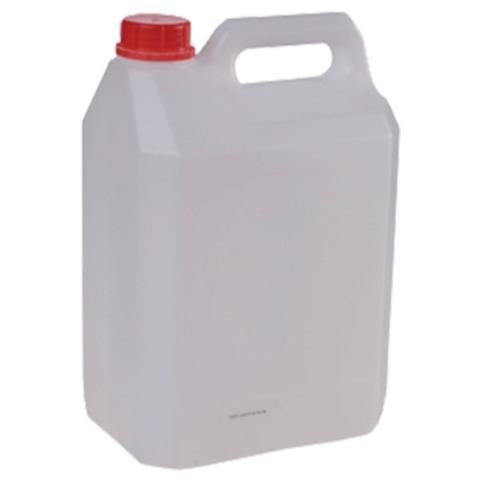 Канистра 5 л (5 дм3), полиэтилен (ПЭНД), с крышкой, для пищевых и химических продуктов, классическая (28х19х13 см)