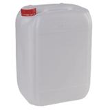 Канистра 21,5 л (21,5 дм3), полиэтилен (ПЭНД), с крышкой, для пищевых и химических продуктов, штабелируемая (39×30×24 см)