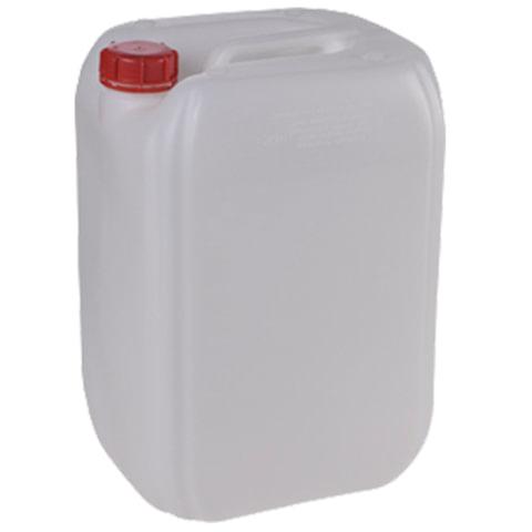 Канистра 31,5 л (31,5 дм3), полиэтилен (ПЭНД), с крышкой, для пищевых и химических продуктов, штабелируемая (45×33×29 см)