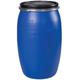 Бочка 127 л, OpenTop, полиэтилен (ПЭНД), крышка с хомутом, диаметр 390 мм, для пищевых и химических продуктов