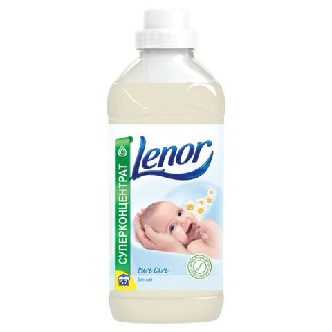 Кондиционер-ополаскиватель для белья LENOR (Ленор), 2л, концентрат, «Детский»