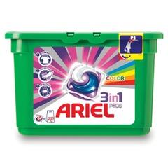 Стиральный порошок-автомат капсулы 15 шт. по 28,8 г, ARIEL (Ариэль) Color