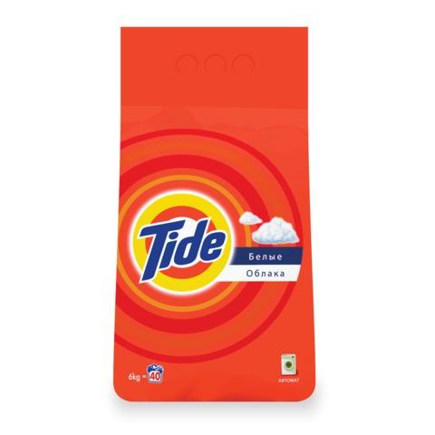 Стиральный порошок-автомат 6 кг, TIDE (Тайд) «Белые облака»