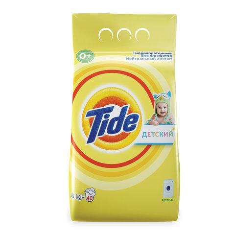 """Стиральный порошок-автомат 6 кг, TIDE (Тайд) """"Детский"""""""