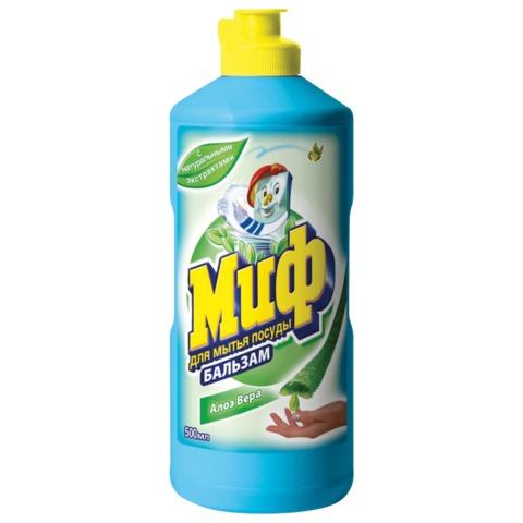 Средство для мытья посуды МИФ, 500 мл, «Бальзам алоэ вера»
