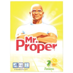 Чистящее средство 400 г, MR.PROPER (Мистер Пропер) «Лимон», универсал, порошок
