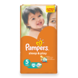 ���������� PAMPERS (�������) «Sleep&Play», ������ 5 (11-18 ��), 58 ��.