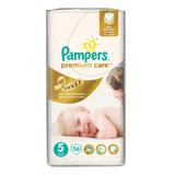 ���������� PAMPERS (�������) «Premium Care», ������ 5 (11-25 ��), 56 ��.