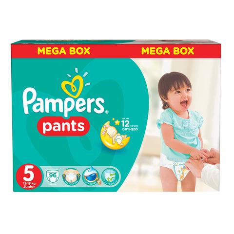Подгузники-трусики 96 шт., PAMPERS (Памперс) «Active Baby Pants», размер 5 (12-18 кг)