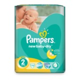 Подгузники PAMPERS (Памперс) «Active Baby», размер 2 (3-6 кг), 72 шт.