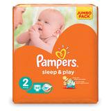 Подгузники PAMPERS (Памперс) «Sleep&Play», размер 2 (3-6 кг), 88 шт.