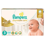 ���������� PAMPERS (�������) «Premium Care», ������ 3 (5-9 ��), 120 ��.