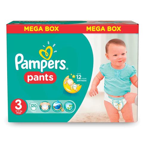 "Подгузники-трусики 120 шт., PAMPERS (Памперс) ""Active Baby Pants"", размер 3 (6-11 кг)"