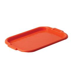 Поднос универсальный средний, 27×39 см, цвет красный, IDEA