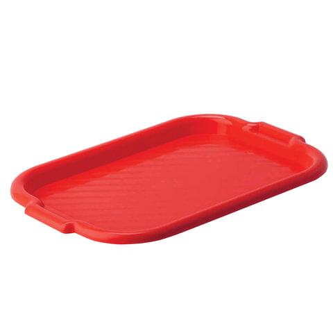 Поднос универсальный IDEA большой, 33×49 см, цвет красный