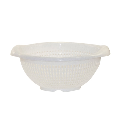 Дуршлаг-корзинка круглый, диаметр 29 см, цвет мраморный, IDEA