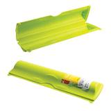 Футляр для фольги и пленки отрывной зажим, 5×9×34 см, цвет салатовый, IDEA