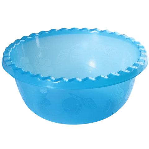 Миска-салатник 1,8 л, для приготовления и хранения, высота 9 см, диаметр 23 см, круглая, синяя, IDEA