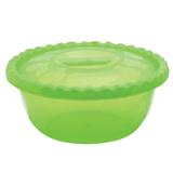 Миска-салатник 5 л с крышкой, IDEA, круглая, диаметр 29,5 см, высота 13 см, цвет салатовый