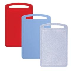 Доска разделочная пластиковая, 0,8×19,5×31,5 см, цвет ассорти, IDEA
