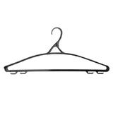 Вешалка-плечики IDEA, пластиковая, р. 48-50, 43 см, цвет черный