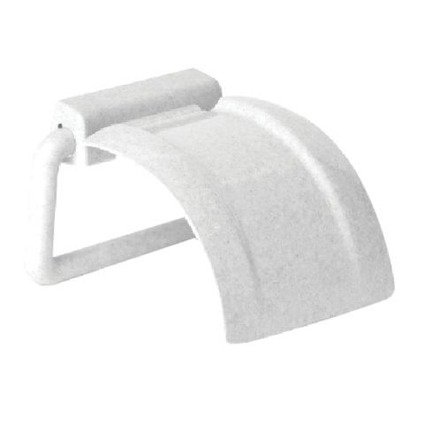 Держатель для туалетной бумаги, пластиковый, цвет мраморный, IDEA