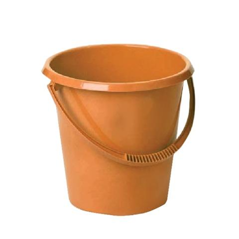 Ведро 11 л, IDEA, без крышки, пластиковое, пищевое, цвет оранжевый