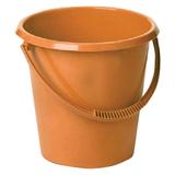 Ведро 17 л, IDEA, без крышки, пластиковое, пищевое, цвет оранжевый