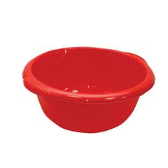 Таз 10 л, хозяйственный, круглый, с ручками, пластиковый, 15×40×43 см, цвет красный, IDEA