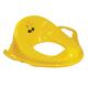 Горшок-накладка детский на унитаз IDEA, пластиковый, с ручками, 14×37×41 см, желтый