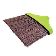 Щетка для уборки «Мега», ширина 25 см, высота щетины 22 см, салатовая (черенок 601322, -831), IDEA