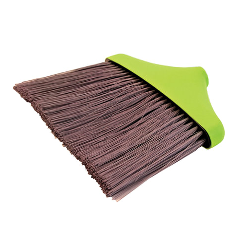Щетка для уборки IDEA «Мега», ширина 25 см, высота щетины 22 см, салатовая (черенок 601322,-831)