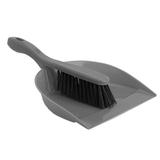 Щетка-сметка с совком для уборки IDEA «Идеал», 8×23×31 см, серая